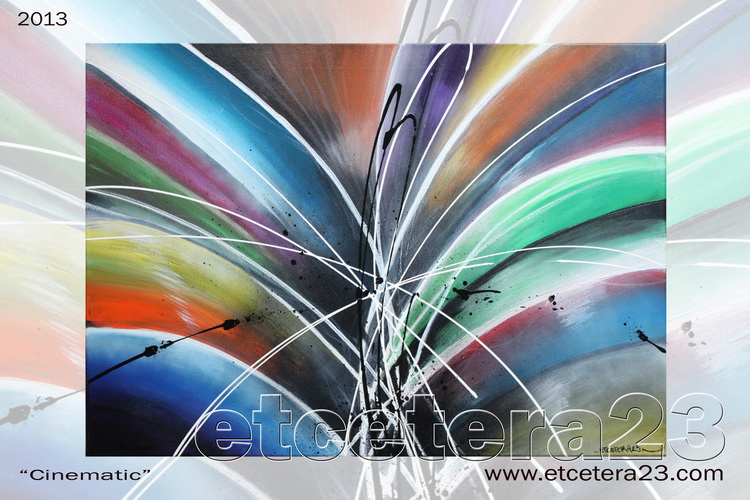 2013 - Cinematic - 70x50 - Canvas