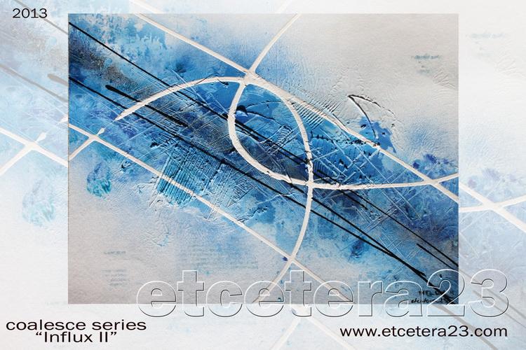 2013 - Coalesce Series - Influx 2 - 30x40 - Canvas