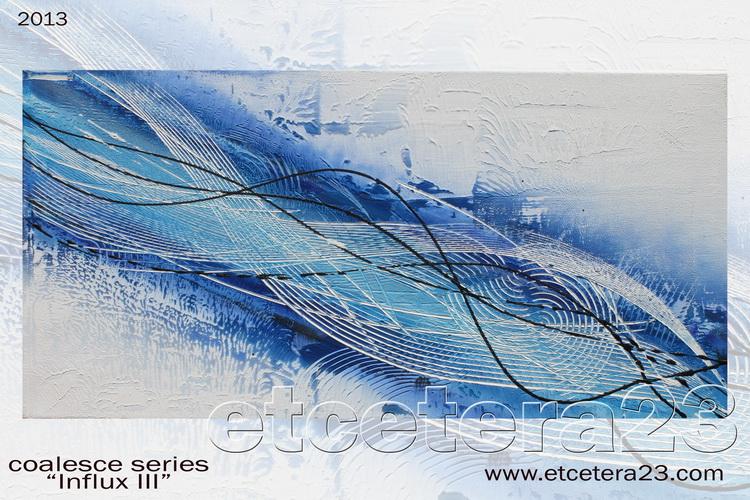 2013 Coalesce Series - Influx 3 - 60x30  - sold