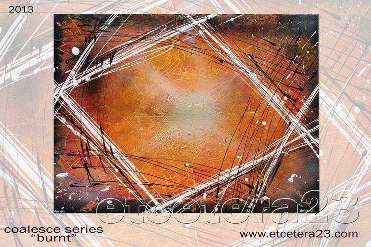 2013 - Coalesce Series - burnt - 42x56