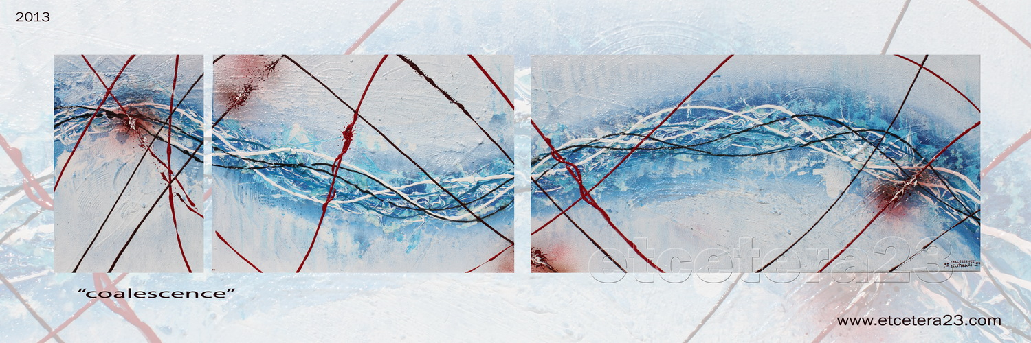 2013 - coalescence - 30x120 - sold