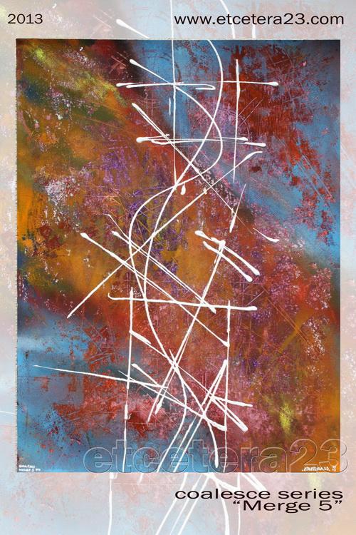 2013 - coalesce - Merge 5 - 42x56