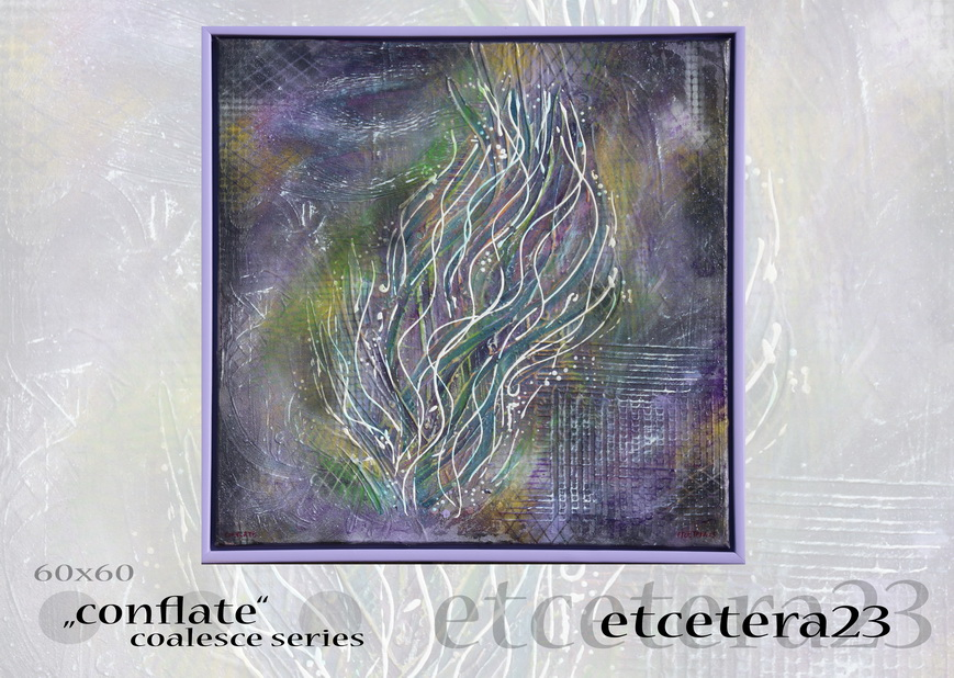 2016 - coalesce - conflate - 60x60