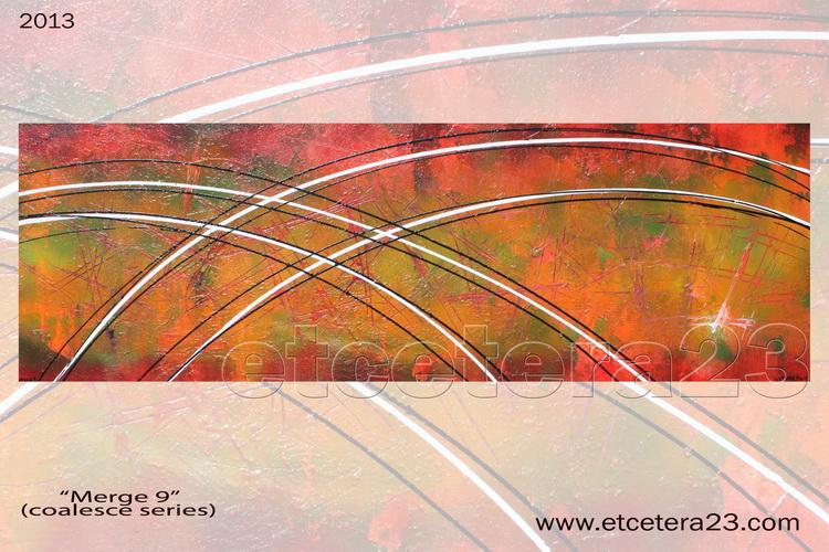 2013 - coalesce - merge 9 - 120x40  - Canvas