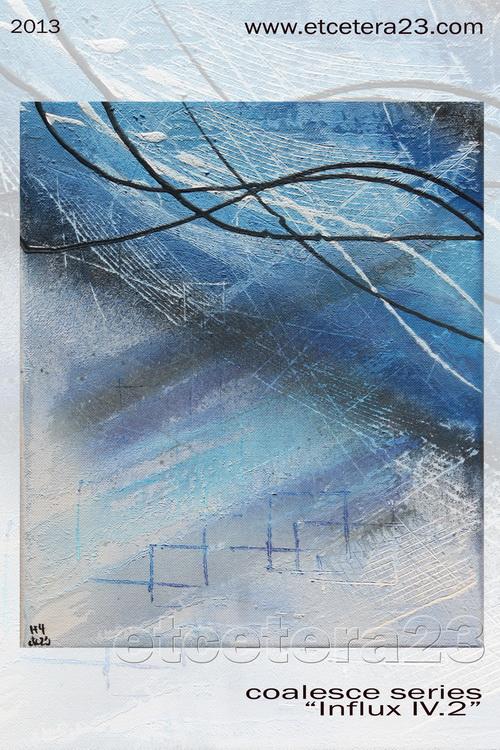 2013 - coalesce - Influx 4.2 - 25x31 - Canvas